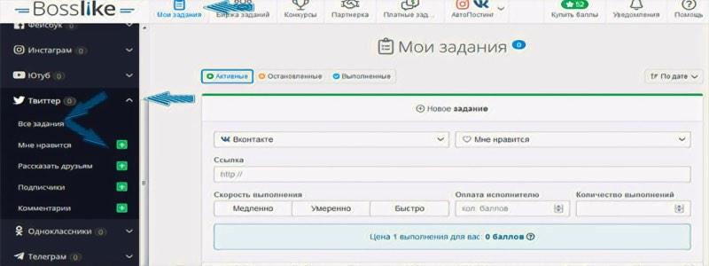 Как запускается раскрутка Твиттера - Bosslike.ru